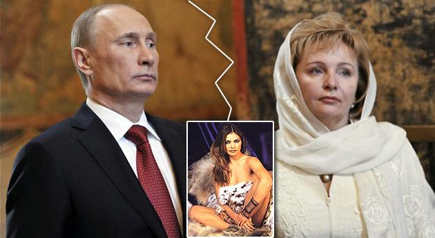 vladimir Putin ' divorcio